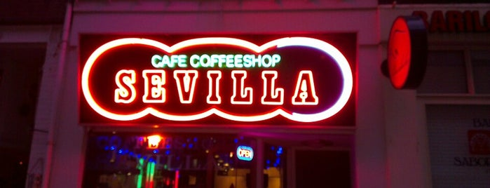Sevilla is one of Amsterdam Coffeeshops 1 of 2.