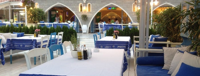 Restaurant Mosta is one of Locais curtidos por eces.