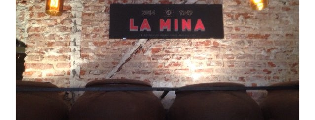 Taberna La Mina is one of Zampar en Madrid.