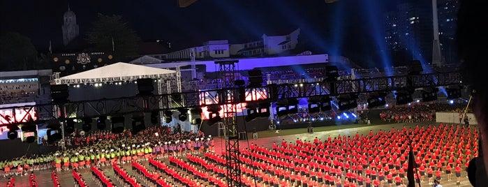 Stadium Merdeka is one of Public.