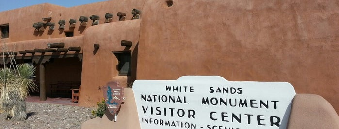 White Sands Visitor's Center is one of Mangat's Liked Places.