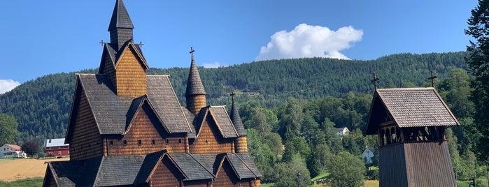 Heddal stavkirke is one of die sehenswürdigkeit.