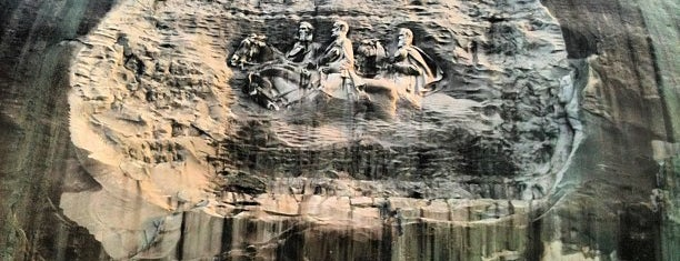 Stone Mountain Park is one of Orte, die Adam gefallen.