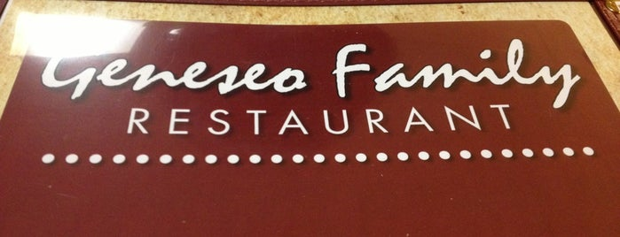 Geneseo Family Restaurant is one of Must-Visit Food in Geneseo.
