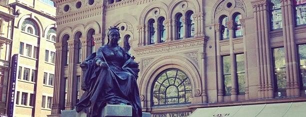 Queen Victoria's Statue is one of Australia - Sydney.