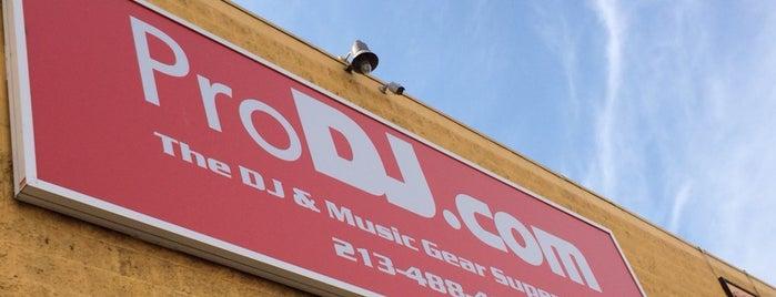 Pro DJ is one of LA Music Shops.