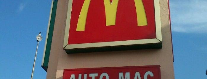 McDonald's is one of Posti che sono piaciuti a Jocelyn.