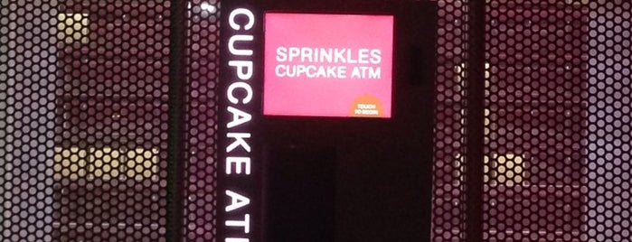 Sprinkles Cupcakes ATM is one of Hidden Gems of Beverly Hills.