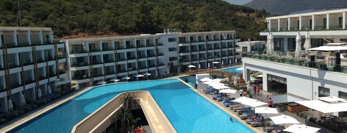 Thor Luxury Hotel & SPA Bodrum is one of Locais curtidos por Şule.