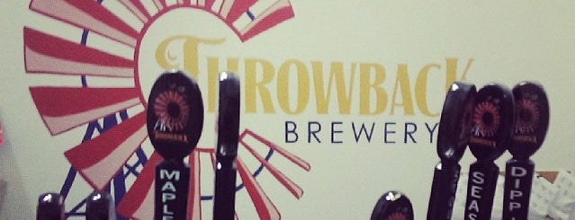 Throwback Brewery is one of Breweries USA.