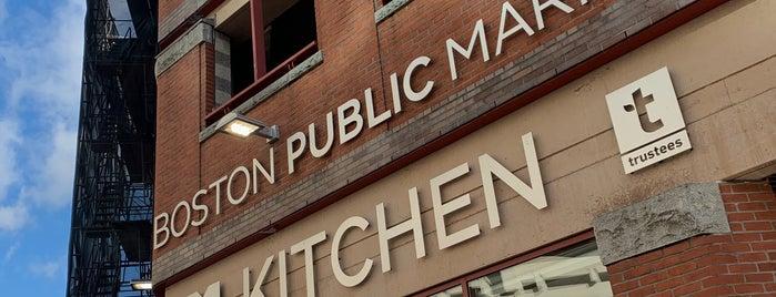 Boston Public Market is one of Nick 님이 좋아한 장소.