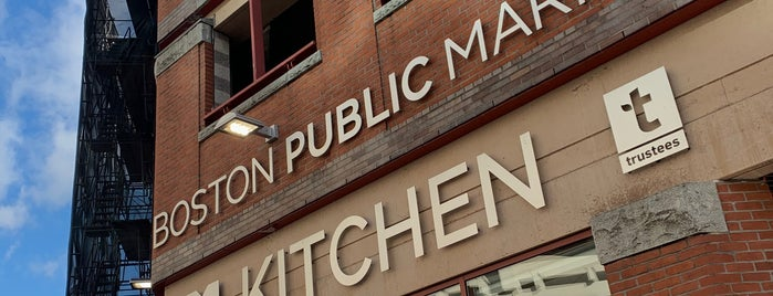 Boston Public Market is one of Orte, die Erik gefallen.