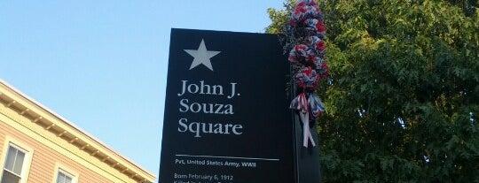 John J. Souza Square is one of Locais curtidos por Rich.