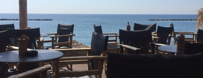 La Isla Beach Bar Restaurant is one of Limassol.