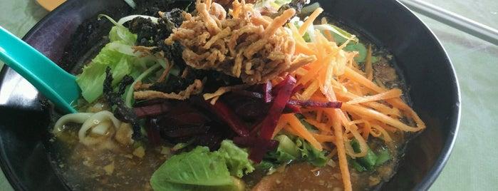 Yi Xin Vegetarian is one of veggie in Singa.