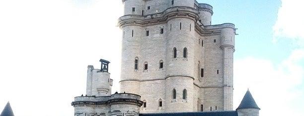 Château de Vincennes is one of Châteaux de France.