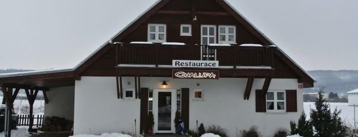 Restaurace Chalupa is one of Tempat yang Disukai Katerina.