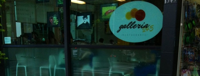 Galleria 245 is one of Lugares favoritos de Renato.