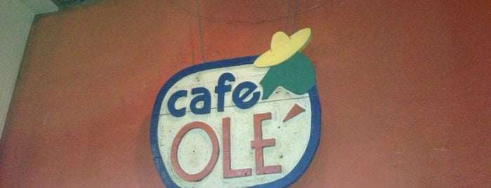 Cafe Olé is one of Molly 님이 저장한 장소.