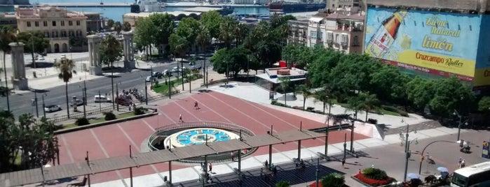 Plaza de la Marina is one of Qué visitar en Málaga.