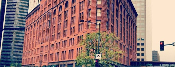 The Brown Palace Hotel and Spa is one of Denver.
