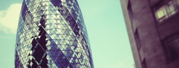 30 St Mary Axe is one of London - All you need to see!.