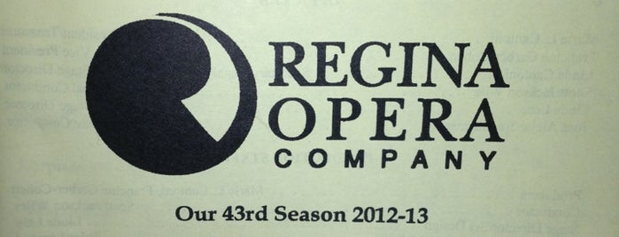 Regina Opera is one of Coalition Partners - One Percent for Culture.