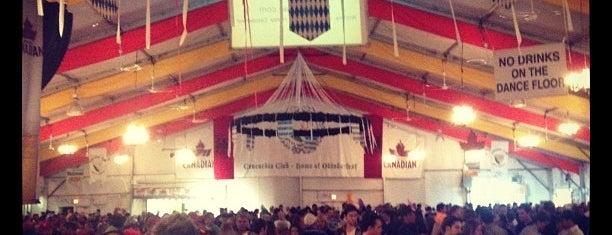 Concordia Club is one of Kitchener Waterloo Oktoberfest Festhallen.