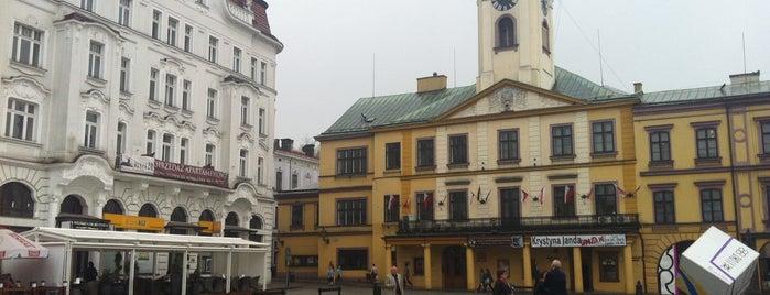 Rynek w Cieszynie is one of Jakub : понравившиеся места.