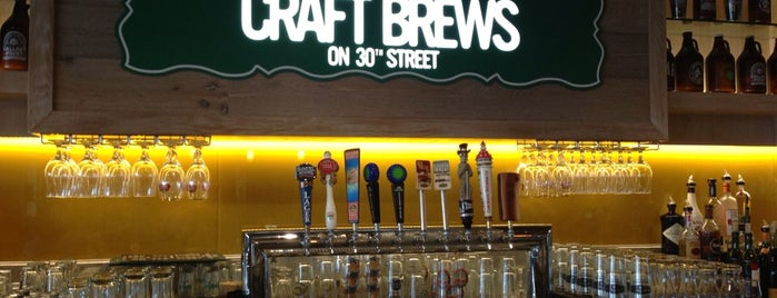 Craft Brews On 30th Street is one of Lugares favoritos de ESTHER.
