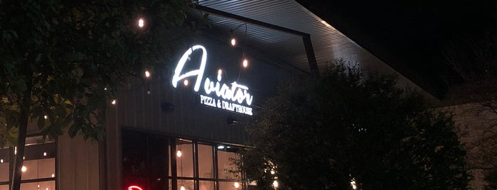 Aviator Pizza & Drafthouse is one of ATX Check out.