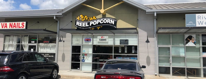Reel Popcorn is one of Austin Places.
