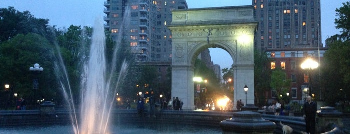 Washington Square Park is one of NYC Summer Activities.