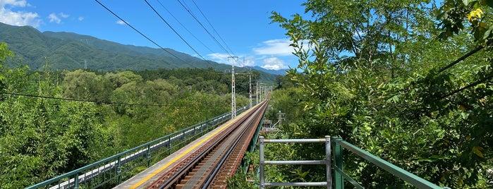 大田切駅 is one of JR 고신에쓰지방역 (JR 甲信越地方の駅).