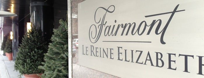 Fairmont The Queen Elizabeth is one of Montreal Hotels.