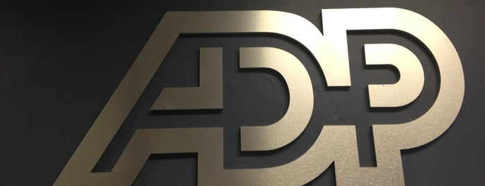 ADP is one of Locais curtidos por Dominic.