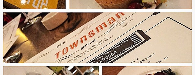Townsman is one of Boston Restaurants.