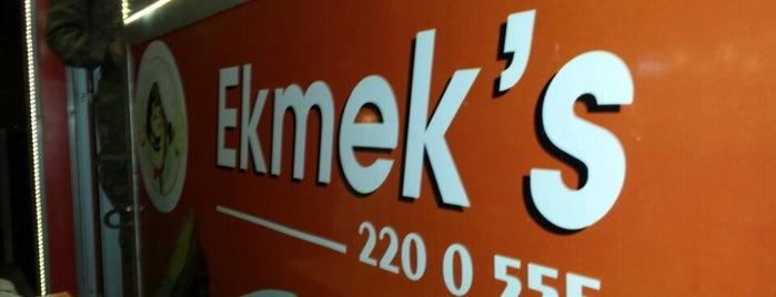 Ekmek's is one of Lieux sauvegardés par Ali.