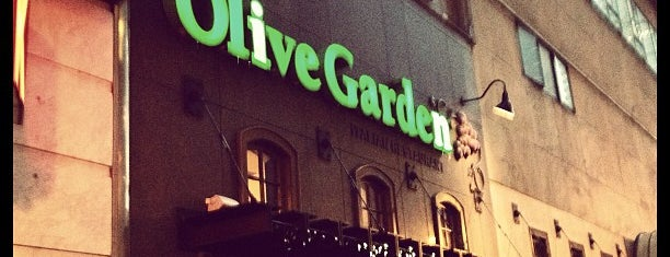 Olive Garden is one of Restaurant.