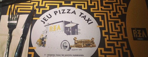 Pizza taxi is one of Comer.