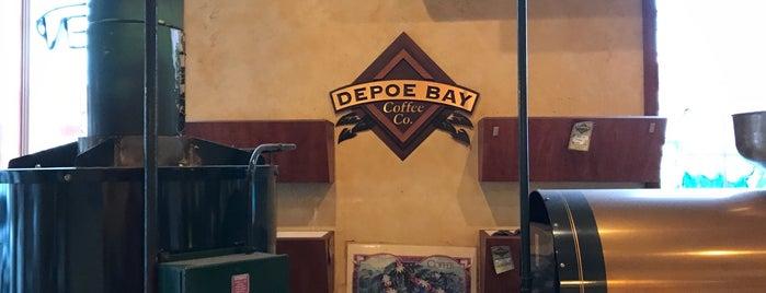 Depoe Bay Coffee Co. is one of Vegan.