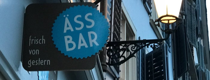 Äss-Bar is one of Eat in Zurich.