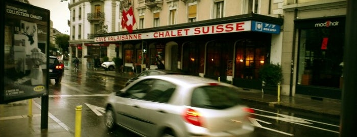 Cave Valaisanne et Chalet Suisse is one of Geneva.