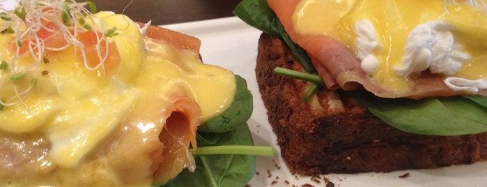 artisan boulangerie co. is one of Veggie choices in Non-Vegetarian Restaurants.