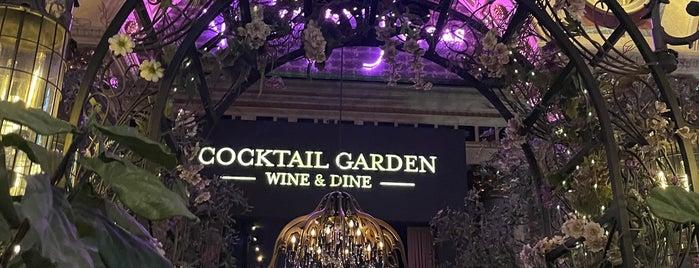 Vanderpump Vegas Cocktail Garden is one of Stevenson's Favorite Whiskey Bars.