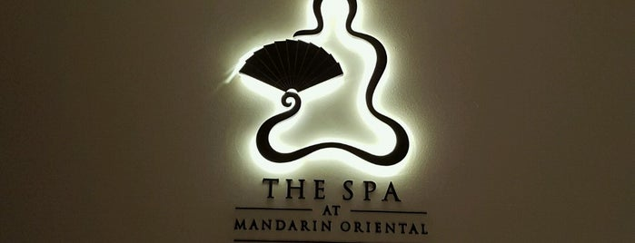 The Spa at Mandarin Oriental is one of London.