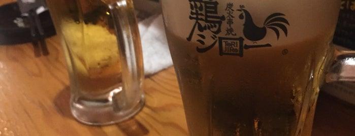 炭火串焼 鶏ジロー 新高円寺店 is one of Linda's favorite restaurants and bars in Tokyo.