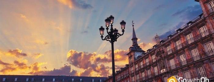 Plaza Mayor is one of Spain 🇪🇸.