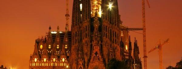 Sagrada Família is one of Куда отвести друзей в Барселоне.