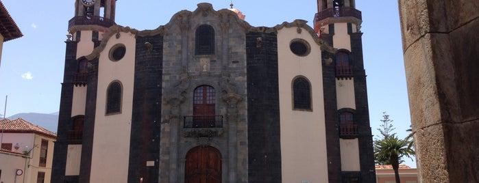 Iglesia Matriz de Ntra. Sra. de La Concepcion is one of Islas Canarias: Tenerife.